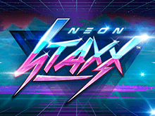 Неон Стакс – популярный игровой автомат с выводом от Netent