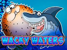 Автомат Wacky Waters от Playtech в казино Шанс